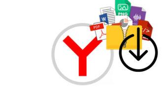 Скачанные файлы в Яндекс Браузере на Андроид