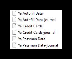 Файлы с паролями