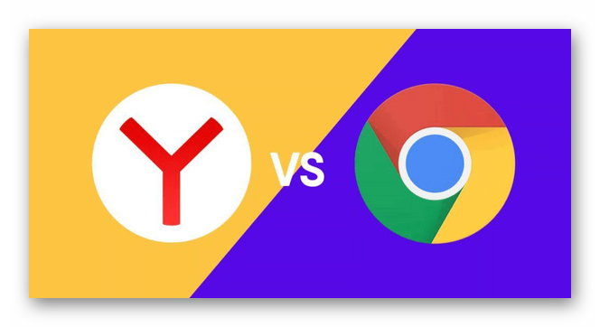 Яндекс.Браузер против Гугл Хром