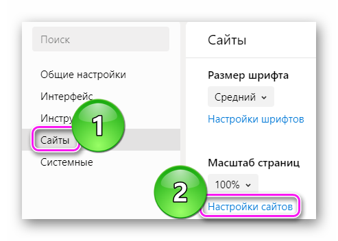 Настройка сайтов под масштабом страницы